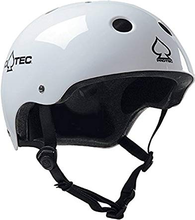 Protec (Cpsc) Classic Gloss White-XXL Helmet