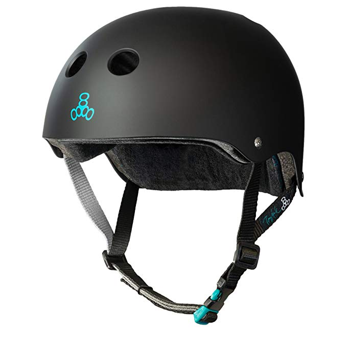Triple 8 Tony Hawk Signature Model THE Certified Sweatsaver Helmet for Skateboarding, BMX, Roller Skating and Action Sports